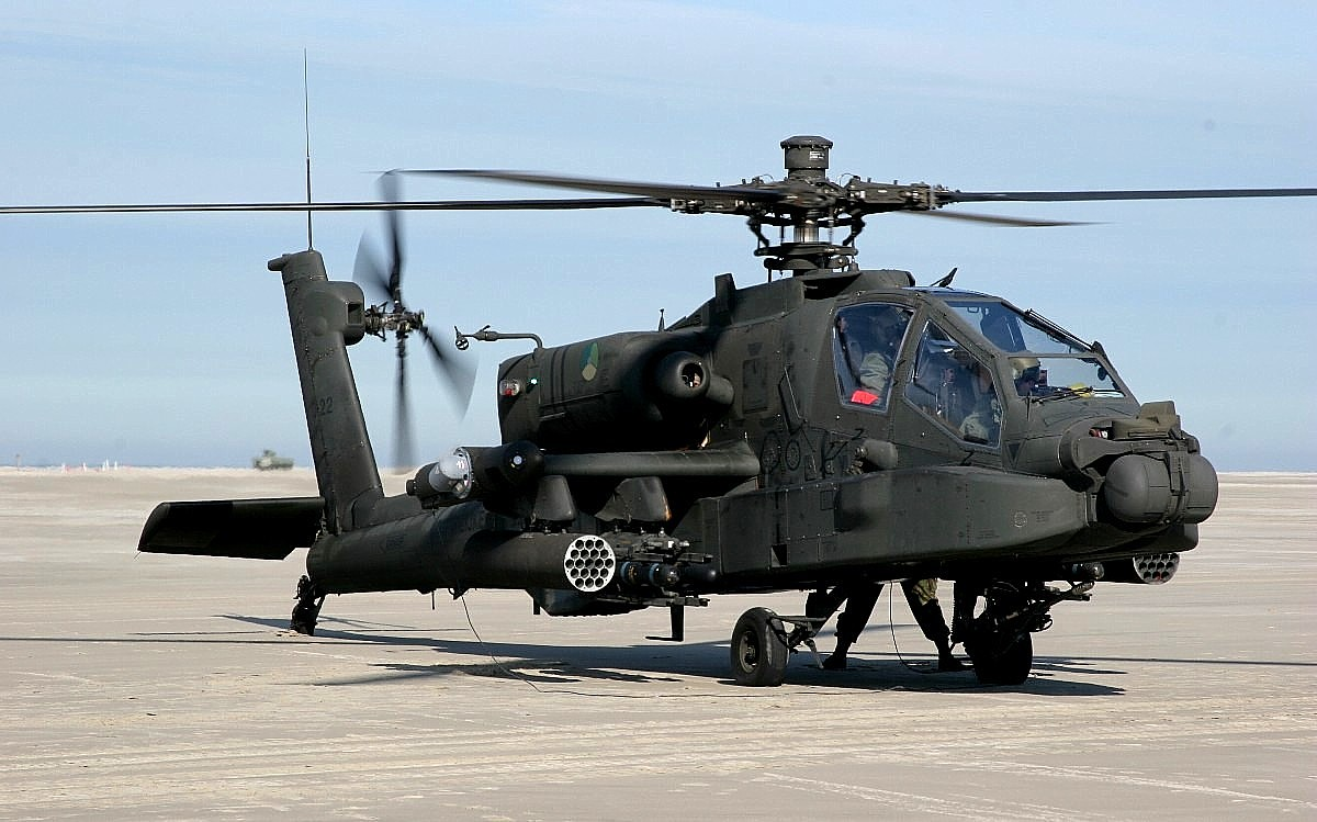 AH-64 Apache Helicopter Wallpaper 3