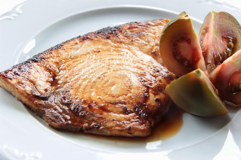 Pez espada marinado a la plancha un pellizco de canela for Cocinar pez espada a la plancha