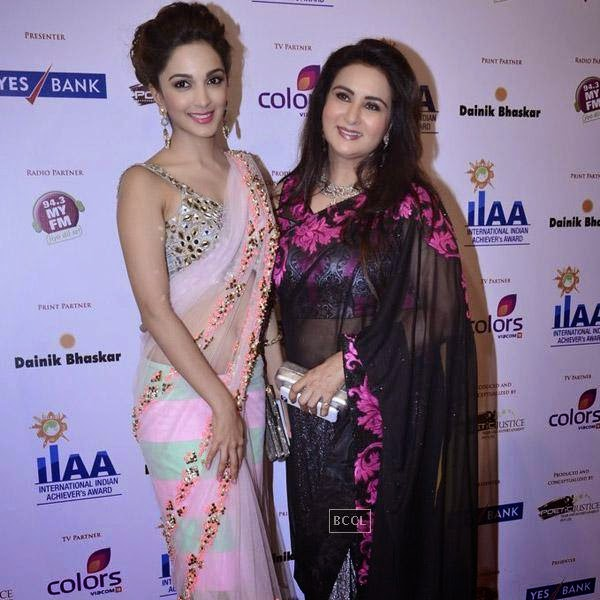 Poonam Dhillon at the International Indian Achievers Awards event, held at Filmcity in Mumbai. (Pic: Viral Bhayani)
