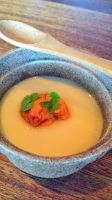 Nodoguro Pop-up Course 1: Sea urchin chawan mushi