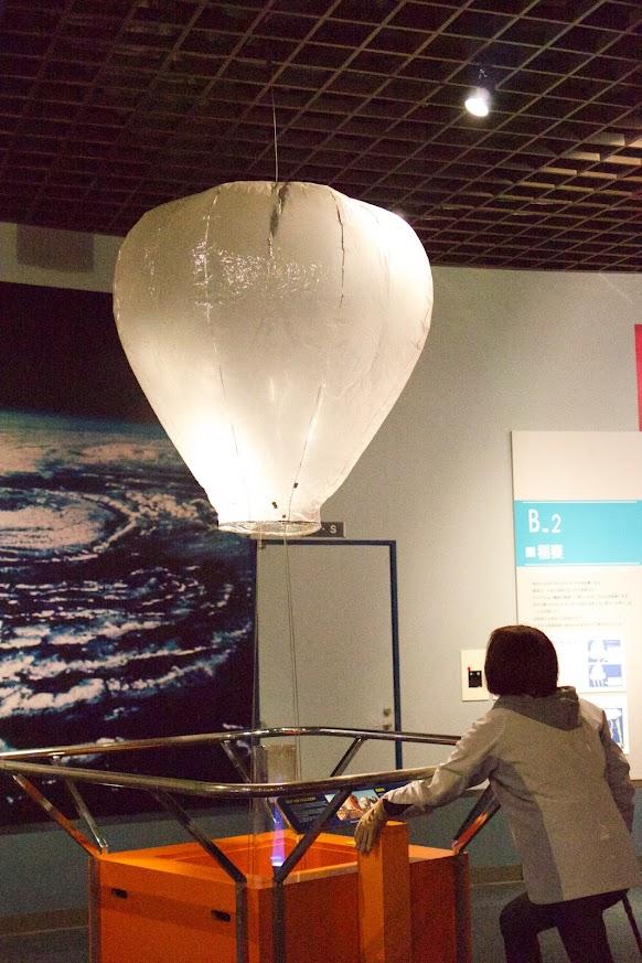 熱気球の実験