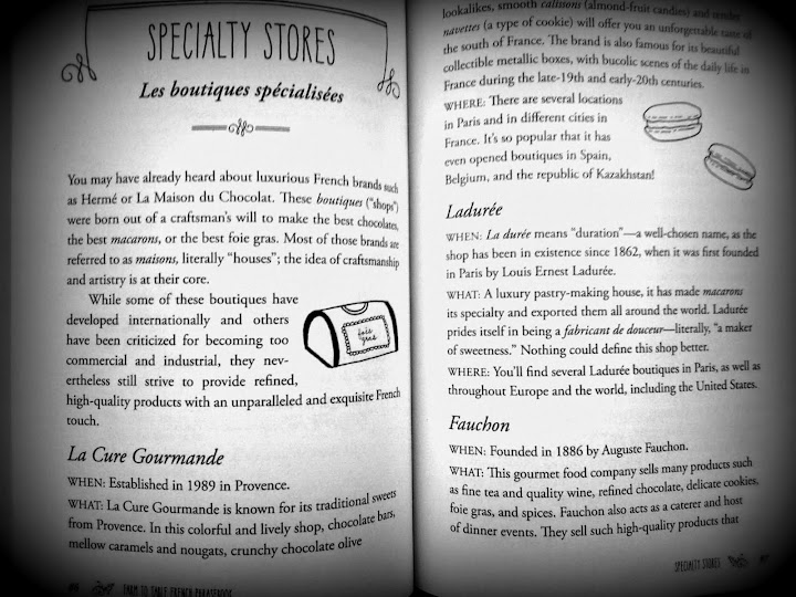 Specialty stores! From The Farm to Table French Phrasebook