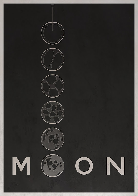 Movie poster - Moon (2009) by ChrisMesh