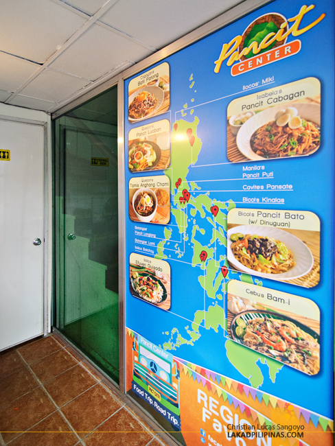 Pancit Map at Pasig's Pancit Center