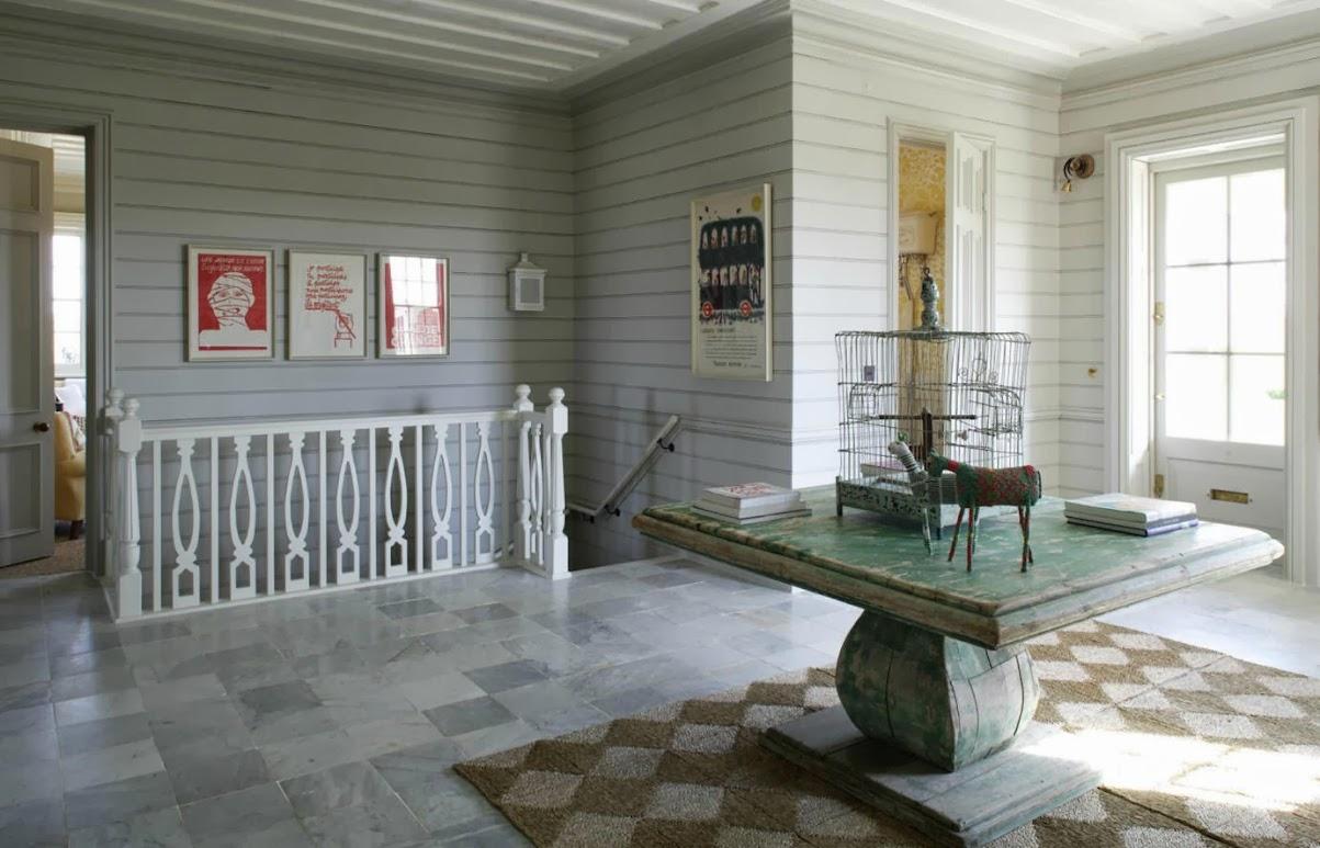 El recibidor de la casa bazeley - El mueble casas de campo ...