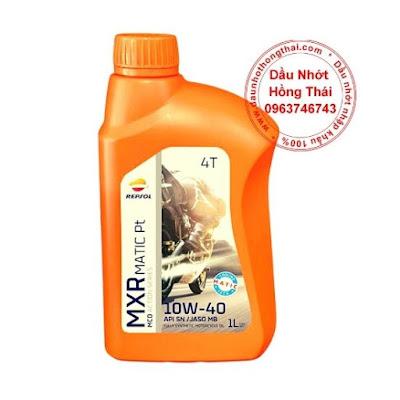 Repsol MXR Matic 10W40 SL/MB