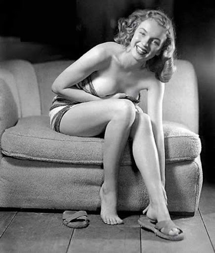 una pin-up llamada Norma Jeane Baker...
