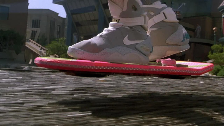 Hoverboard (5 Cool Inventions To Make Travel Easier).