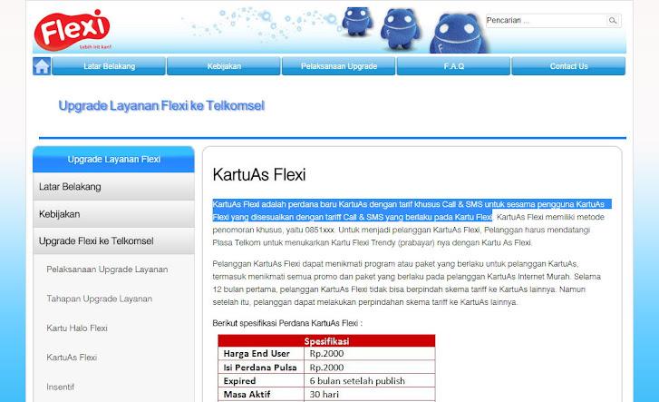 The End of Fun! Layanan Upgrade Flexi ke Telkomsel