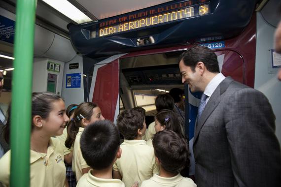 Más de 350.000 escolares han visitado Metro de Madrid a lo largo de 30 años