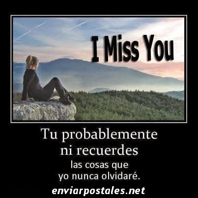 I Miss You-enviar postales