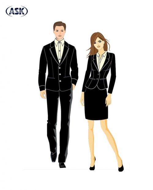 Trang phục Quản lý - Tiếp tân #3