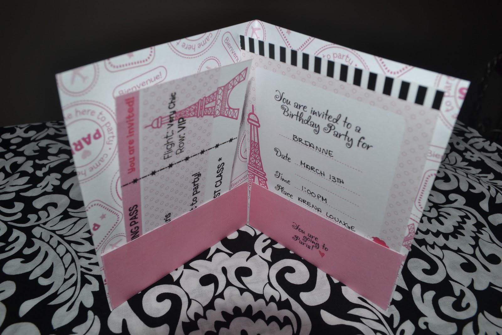 Passport Themed Invitations is perfect invitation ideas