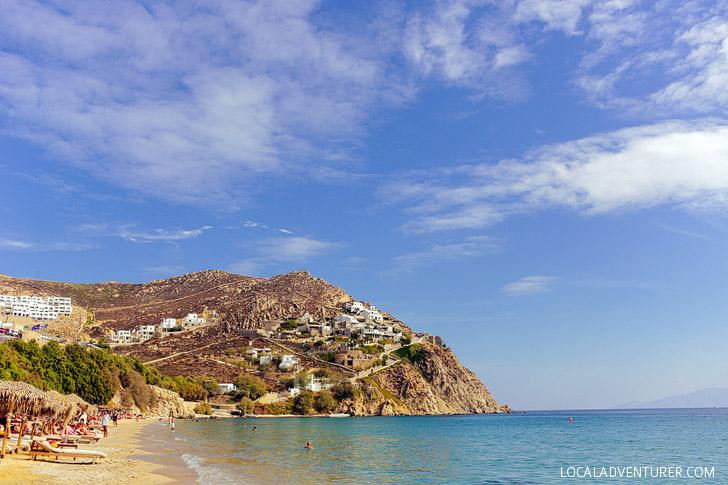 Elia Beach Mykonos (15 Best Beaches in Greece).