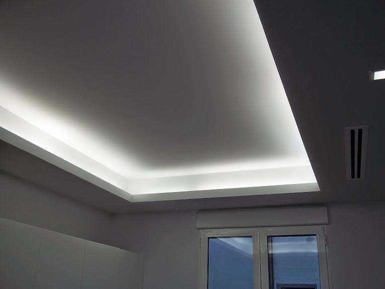 Precio falso techo escayola cool placa de techo t xxmm with precio falso techo escayola finest - Iluminacion indirecta led ...