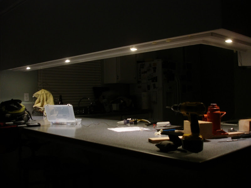 Completed Diy Cree Security Eave Lighting Project