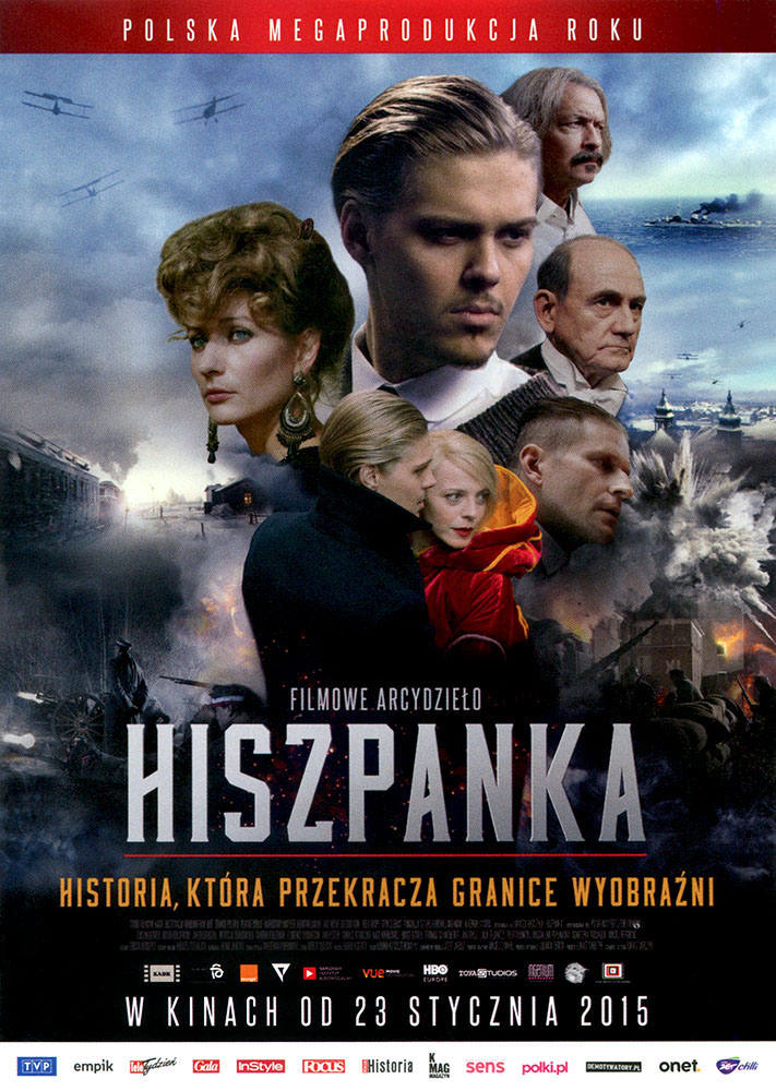Ulotka filmu 'Hiszpanka (przód)'