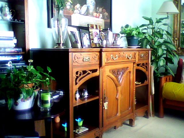 compra venta y restauración de muebles: APARADOR ART-NOUVEAU
