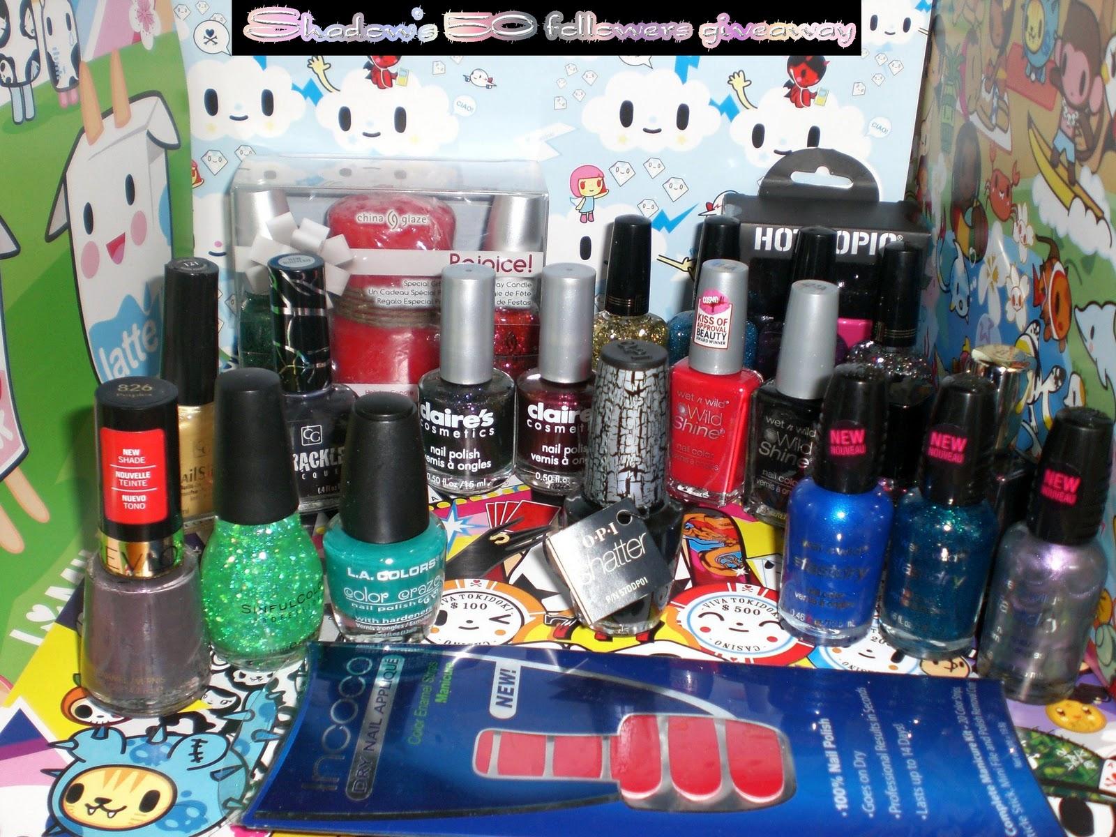 Lækker neglelak Giveaway / Lovely nail polish Giveaway