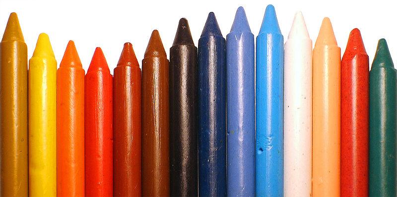 Scribbles Crayon Art Materials And Equipment