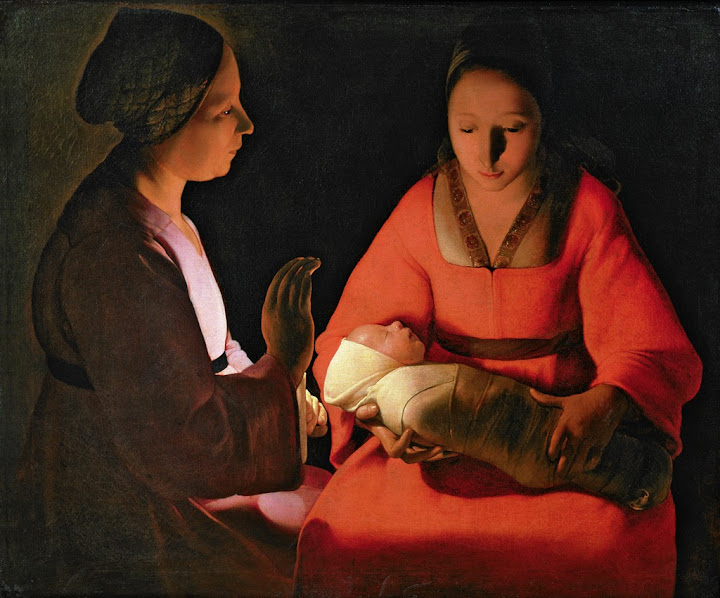 Georges de La Tour - The New-born