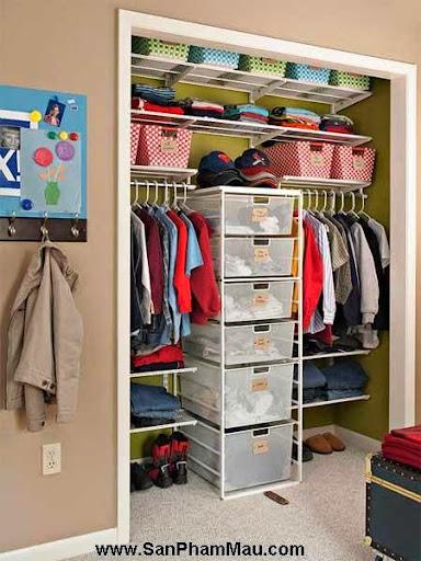 Cách trang trí tủ quần áo để được chồng khen-6