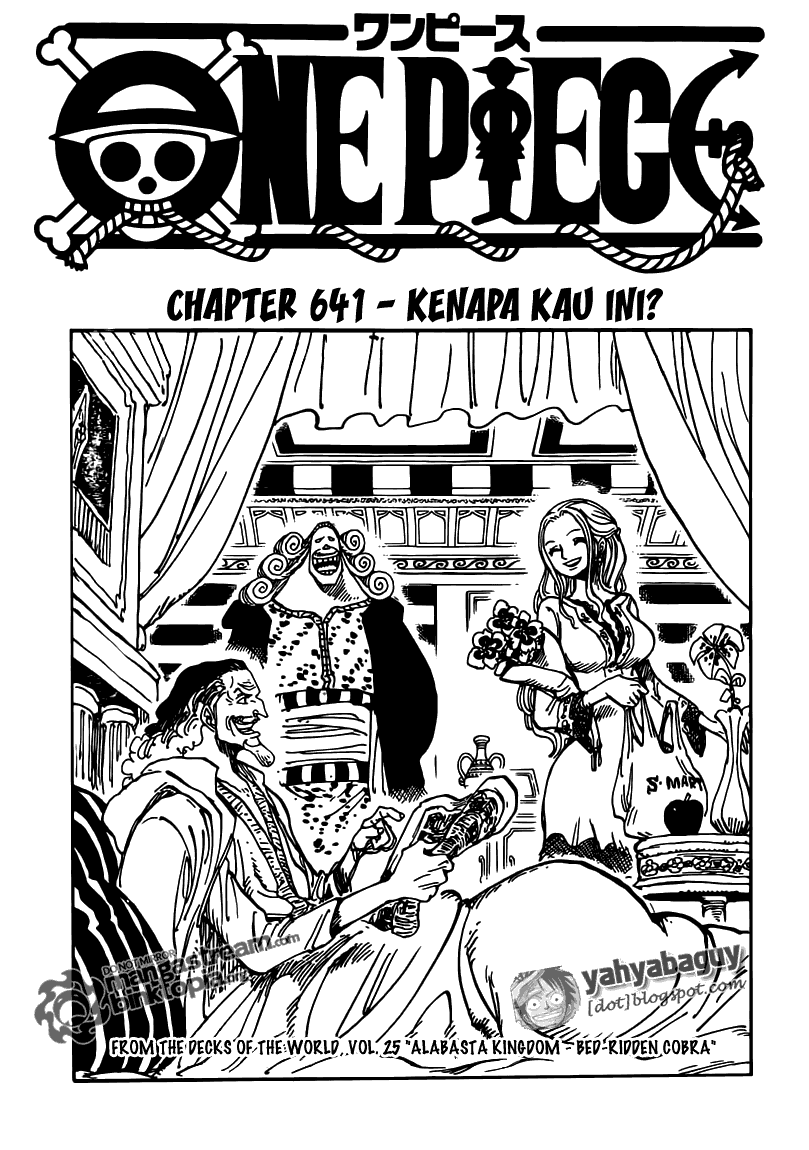 Baca Komik One Piece Chapter 641 - 01