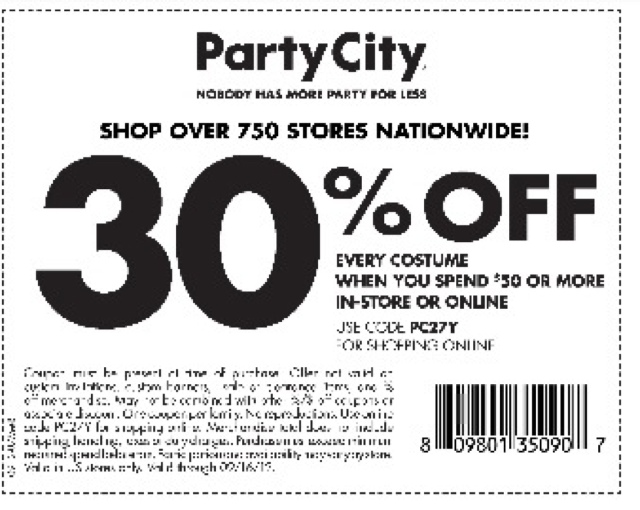 please be advised that this post may contain affiliate links see my disclosure policy for details - Party City Store Costumes