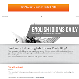 English Idioms Daily Blog photos, images