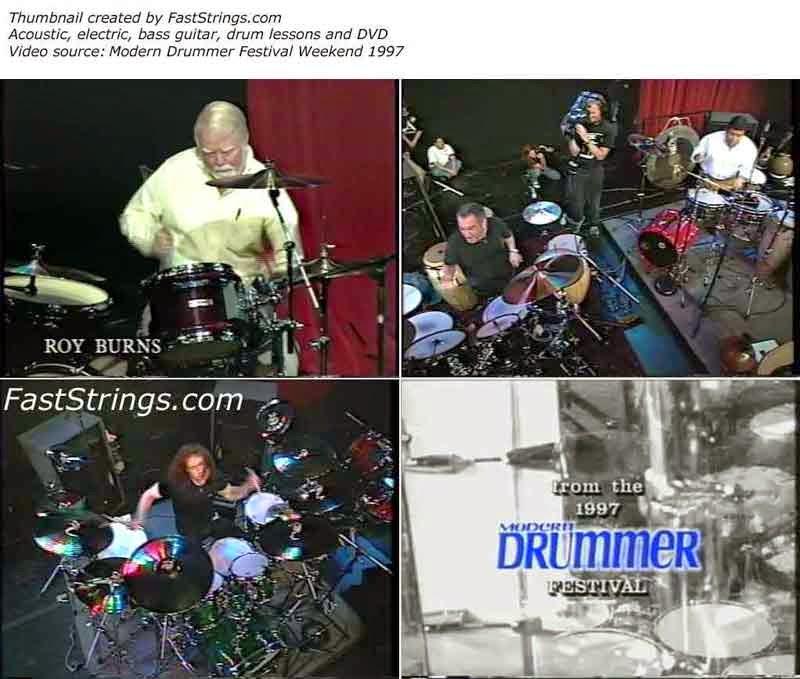Modern Drummer Festival 1997