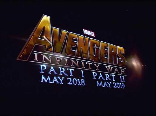 Marvel Phase 3 Announcement: Marvel's Avengers Infinity War Part 1 and Part 2