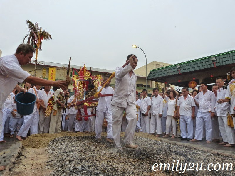 Nine Emperor Gods Fire-Walking Ceremony