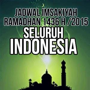 Jadwal Imsakiyah Ramadhan 1426 H 2015 Seluruh Indonesia