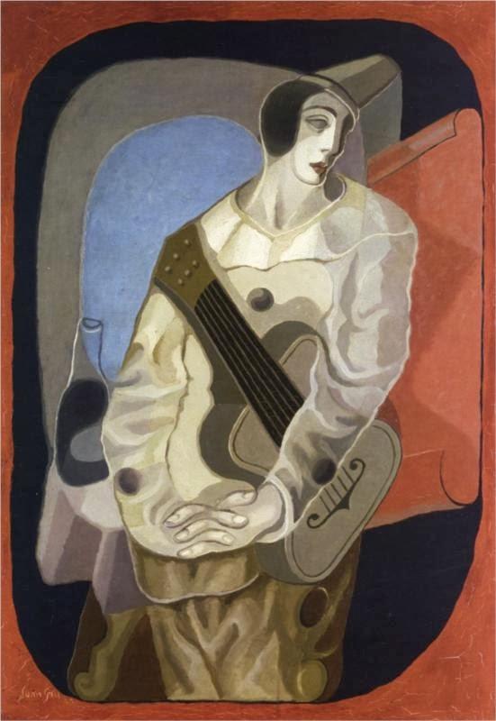 la flor gris 1925%2520pierrot-with-guitar-1925