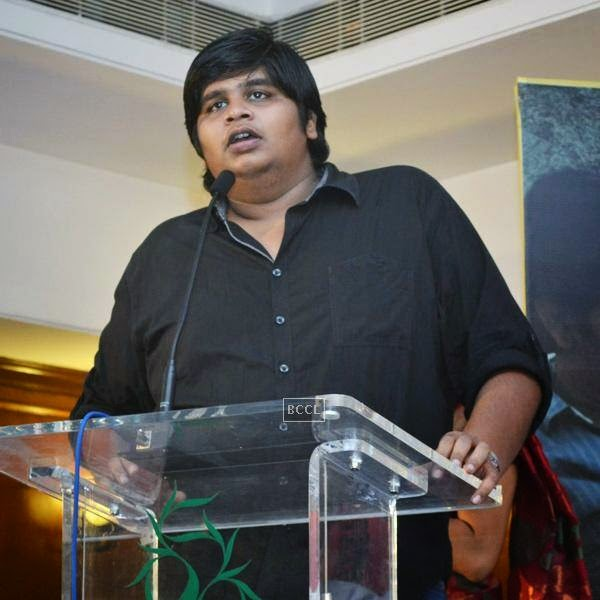 Karthik Subbaraj during the press meet of Sathuranga Vettai, held in Chennai.