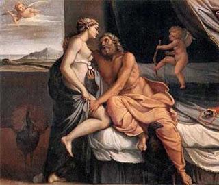 Ζευς και Ήρα,μήνας Γαμηλιών,Zeus and Hera, wedding month