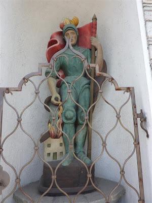 Estatua de San Florián en Schladming