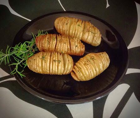 Ziemniaki pieczone,zioła