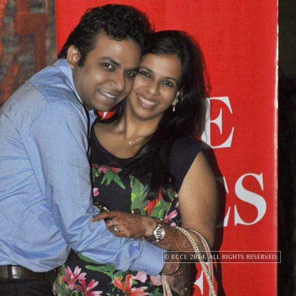 Pratyush Sureka and Priyanka Singhania at Kolkata's Funniest Day, a stand-up comedy event.