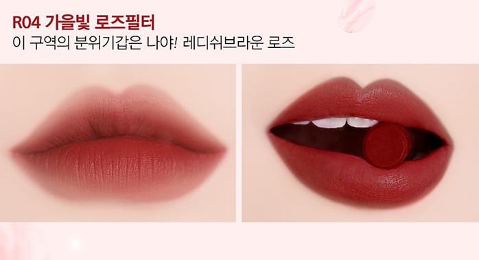 Son Black Rouge Rose Vlevet Lipstick R04