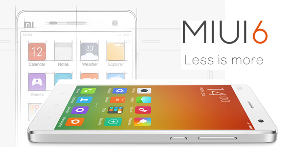 Xiaomi announces MIUI 6 with flattened interface and new features