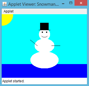 Javaproblems Com Free Coding Problems And Exercises How To Draw A Snowman In Java