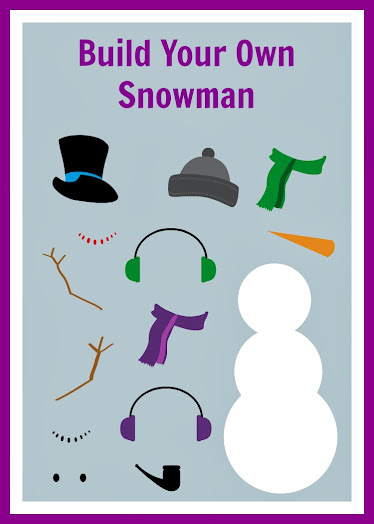 Free Build Your Own Snowman Printable