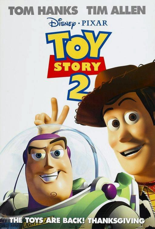 Poster Of Toy Story 2 (1999) Full Movie Hindi Dubbed Free Download Watch Online At Alldownloads4u.Com