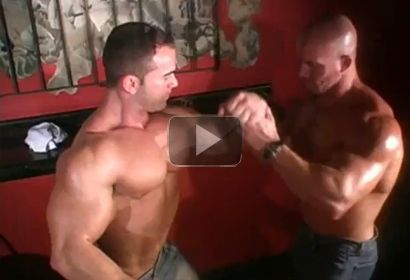 MuscIe Worship in the Bar