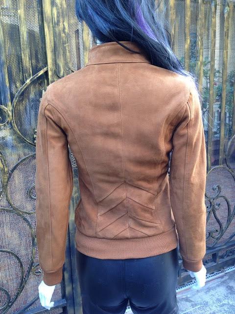 áo khoác da cừu nữ cao cấp