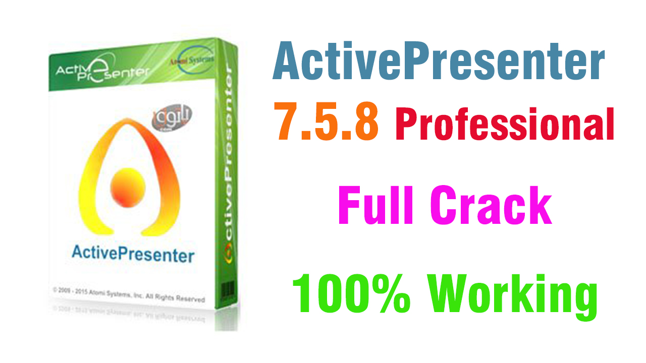 ActivePresenter 7.5.8 Professional Full Version With License Key 2019 + Portable (100% Working)