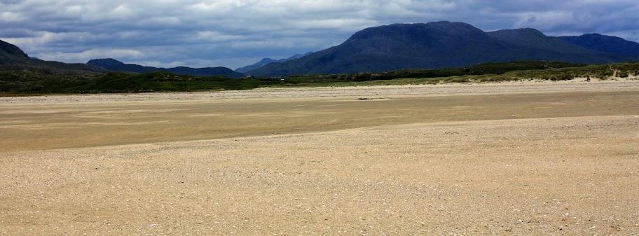 Whitestrand beach Connemara Ireland