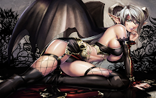 morrigan fantasy art 1440x900 wallpaper