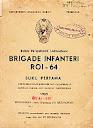 Buku Petunjuk Lapangan Brigade Infanjtri ROI - 64 (Buku Pertama)